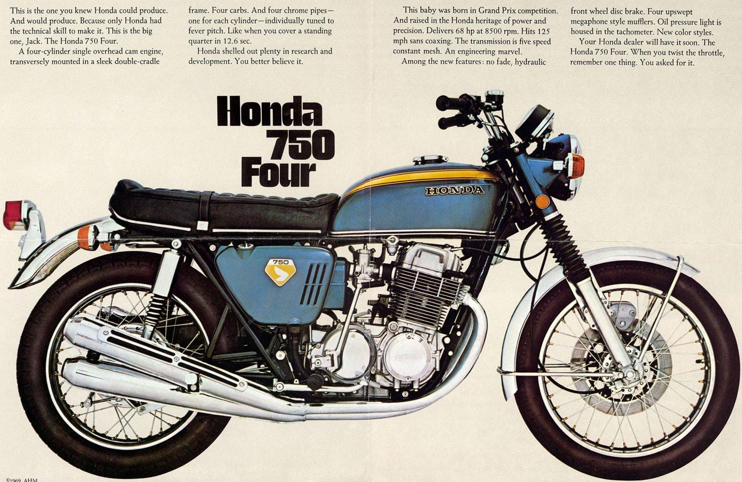 Ga 8304 1971 Honda 750 Four Wiring Diagram Schematic Wiring