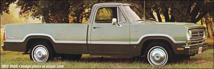 Wb 2143 1972 Dodge D100 Adventurer Wiring Diagram