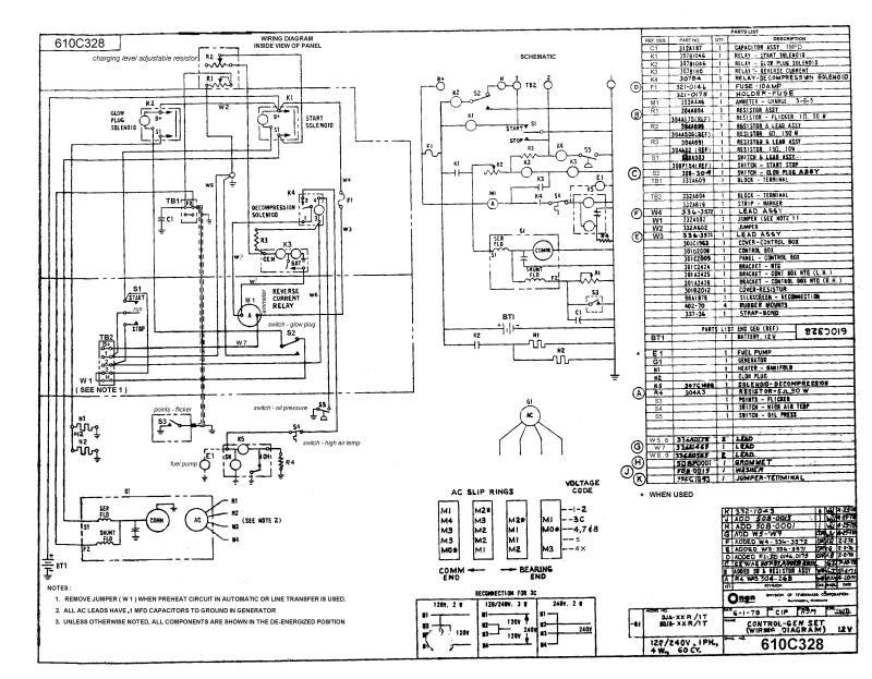 Onan 6500 Rv Generator Wiring Diagram