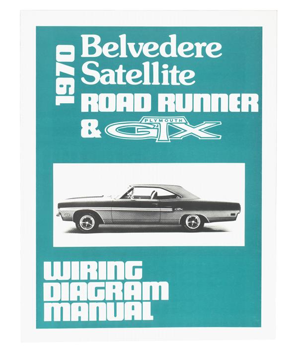 1969 Plymouth Belvedere Satellite Road Runner Gtx Wiring Diagram Manual 69
