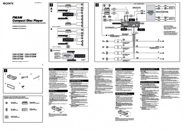 lm7703 wiring diagram likewise sony cdx gt120 wiring
