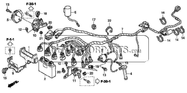 2005 Trx450r Wiring Diagram - Wiring Diagram