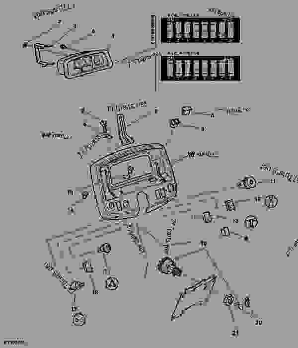 Vh 4443  John Deere 4960 Wiring Diagram Free Diagram