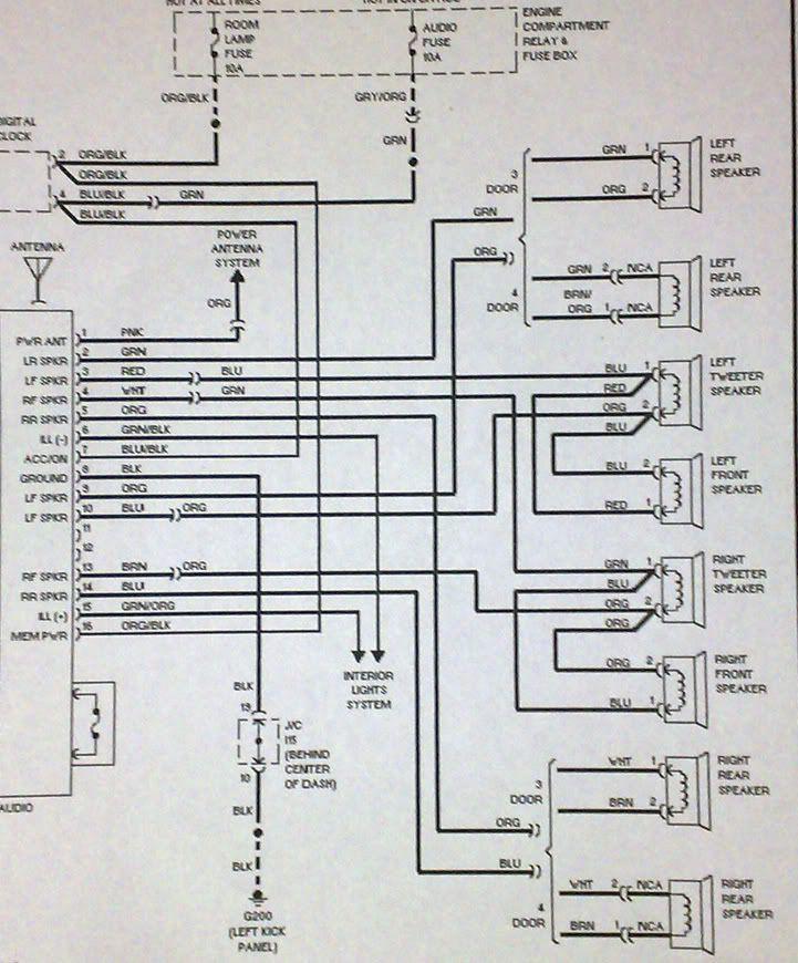 hyundai excel head unit wiring diagram ek 2846  hyundai speakers wiring diagram  ek 2846  hyundai speakers wiring diagram