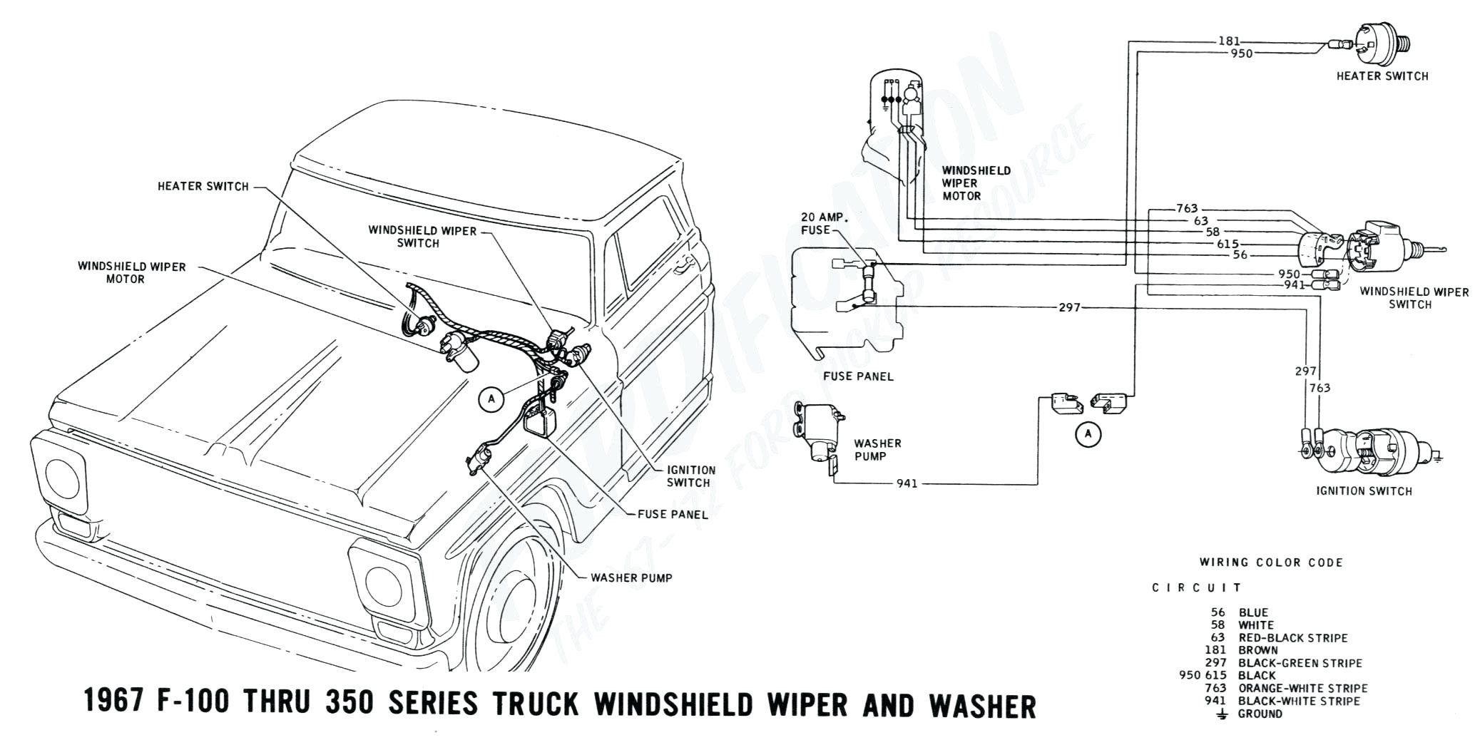 1997 F150 Wiper Wiring Diagram