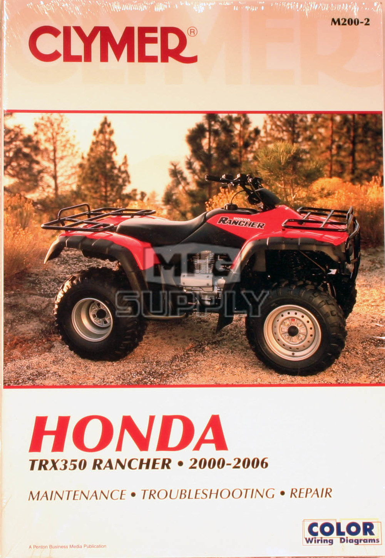 Awe Inspiring 2006 Honda Trx 350 Atv Wiring Diagram Online Wiring Diagram Wiring Cloud Onicaxeromohammedshrineorg