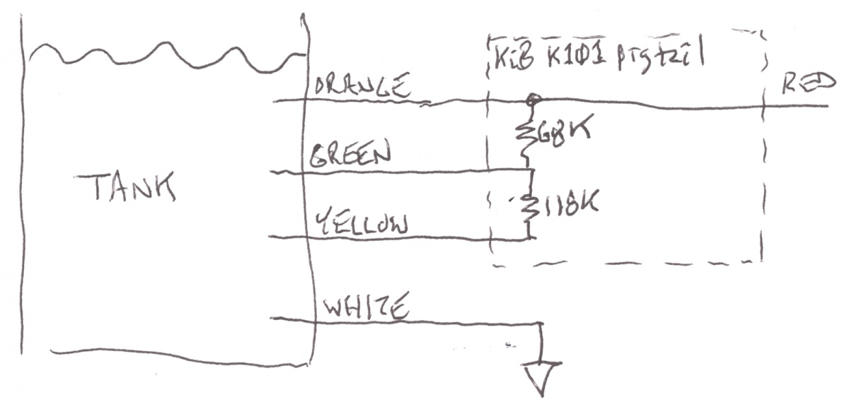 Rv Water Tank Sensor Wiring Diagram