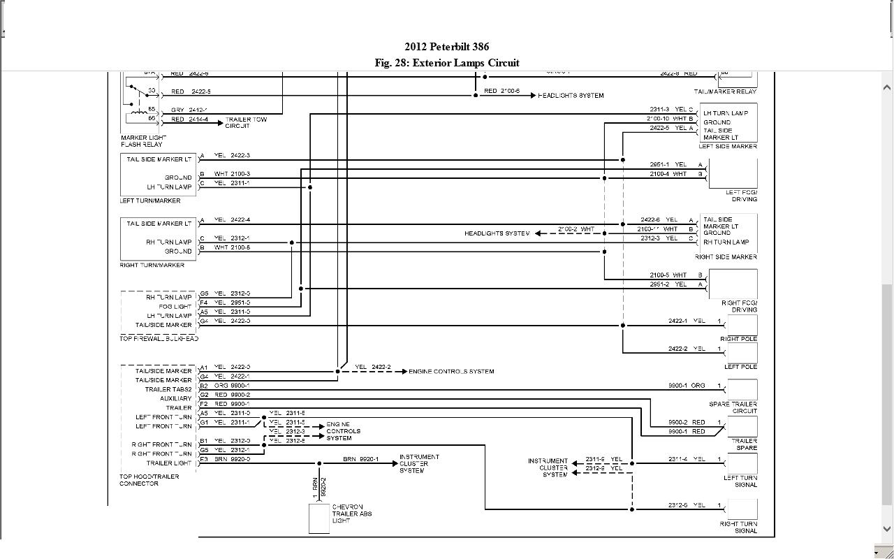 Peterbilt 386 Wiring Schematic