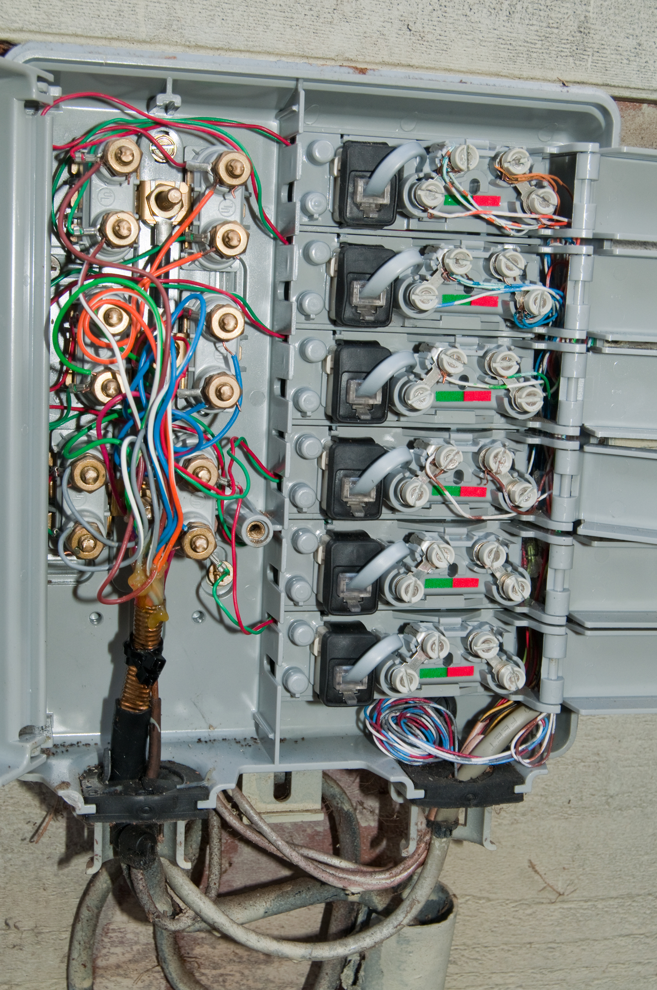 View Wiring Diagram Outside Telephone Junction Box Images