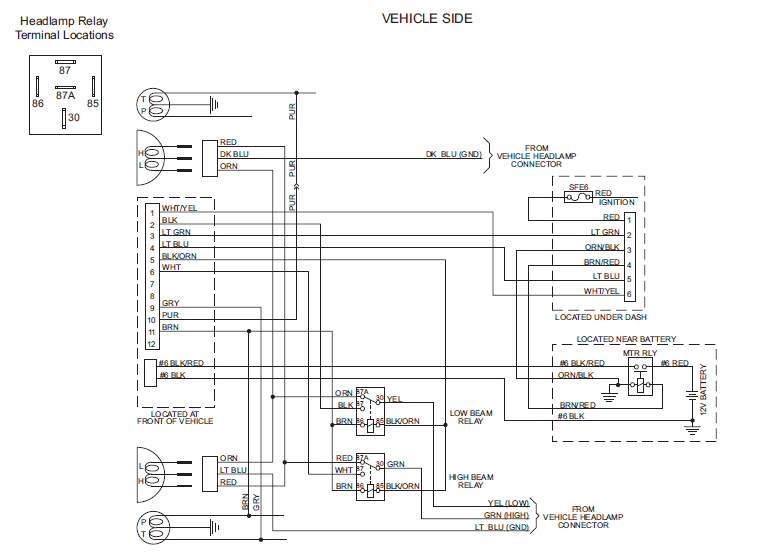 boss snow plow headlight wiring diagram ag 7420  western unimount wiring diagram dodge download diagram  western unimount wiring diagram dodge
