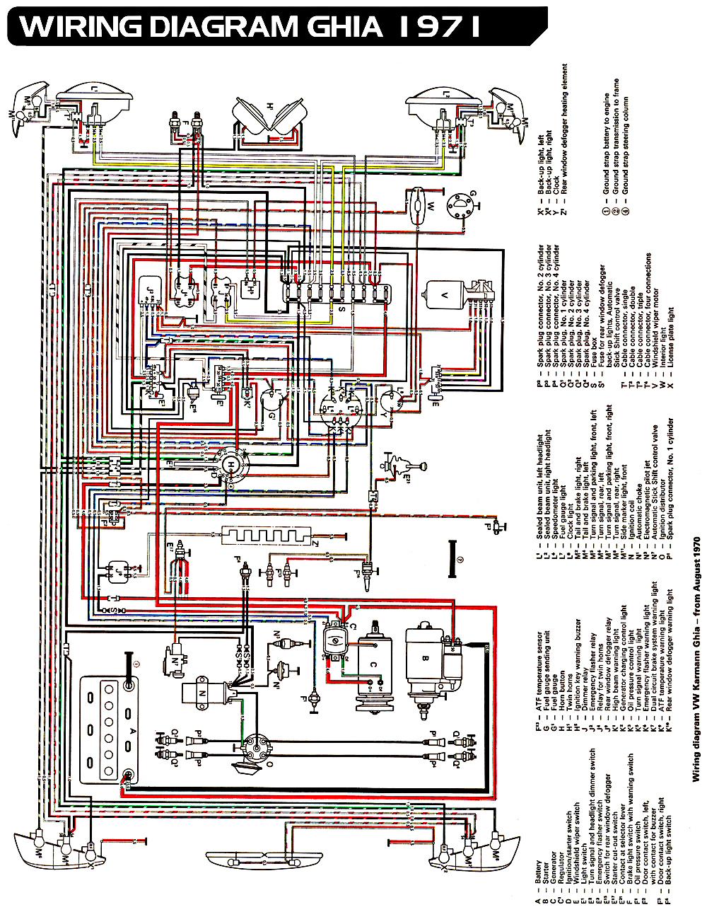 1972 vw beetle wire schematic 1963 vw bug wiring wiring diagrams show  1963 vw bug wiring wiring diagrams show
