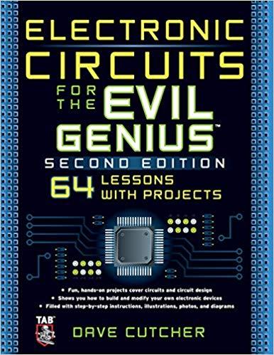 Pleasant Electronic Circuits For The Evil Genius 2 E Dave Cutcher Wiring Cloud Domeilariaidewilluminateatxorg