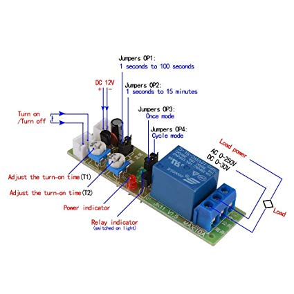 Da 6600 Time Delay Relay 12v Circuit Schematic Wiring