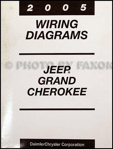 Astounding 2005 Jeep Grand Cherokee Wiring Diagram Manual Original Wiring Cloud Eachirenstrafr09Org