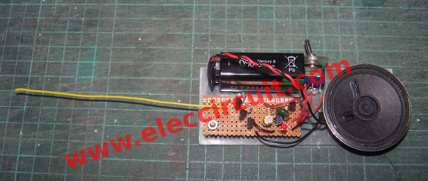 Amazing Simple Non Contact Voltage Tester Using Transistors Wiring Cloud Onicaalyptbenolwigegmohammedshrineorg