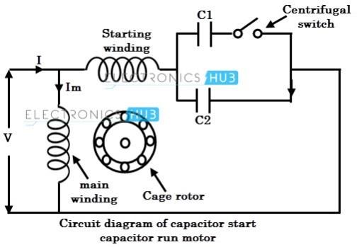 tw0771 capacitor start run motor wiring diagram website of