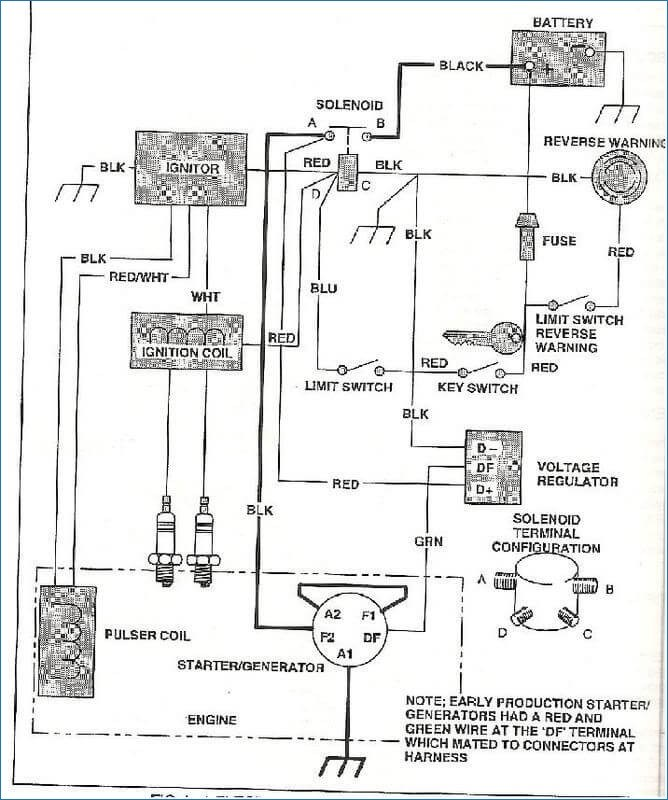 1985 ez go wiring diagram fl 9316  golf carts wiring diagram  fl 9316  golf carts wiring diagram