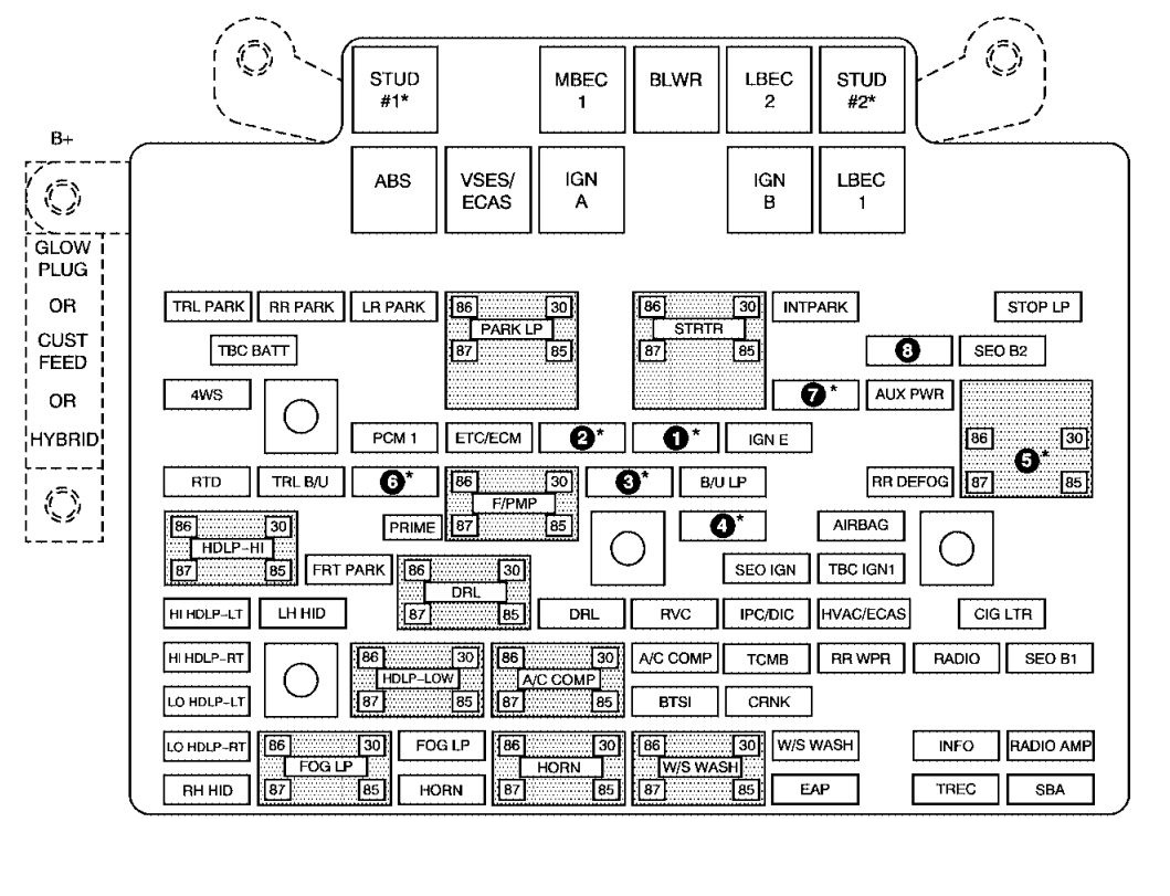 2007 chevrolet avalanche fuse panel diagram - instrument cluster fuse  diagram 97 ford probe for wiring diagram schematics  wiring diagram schematics