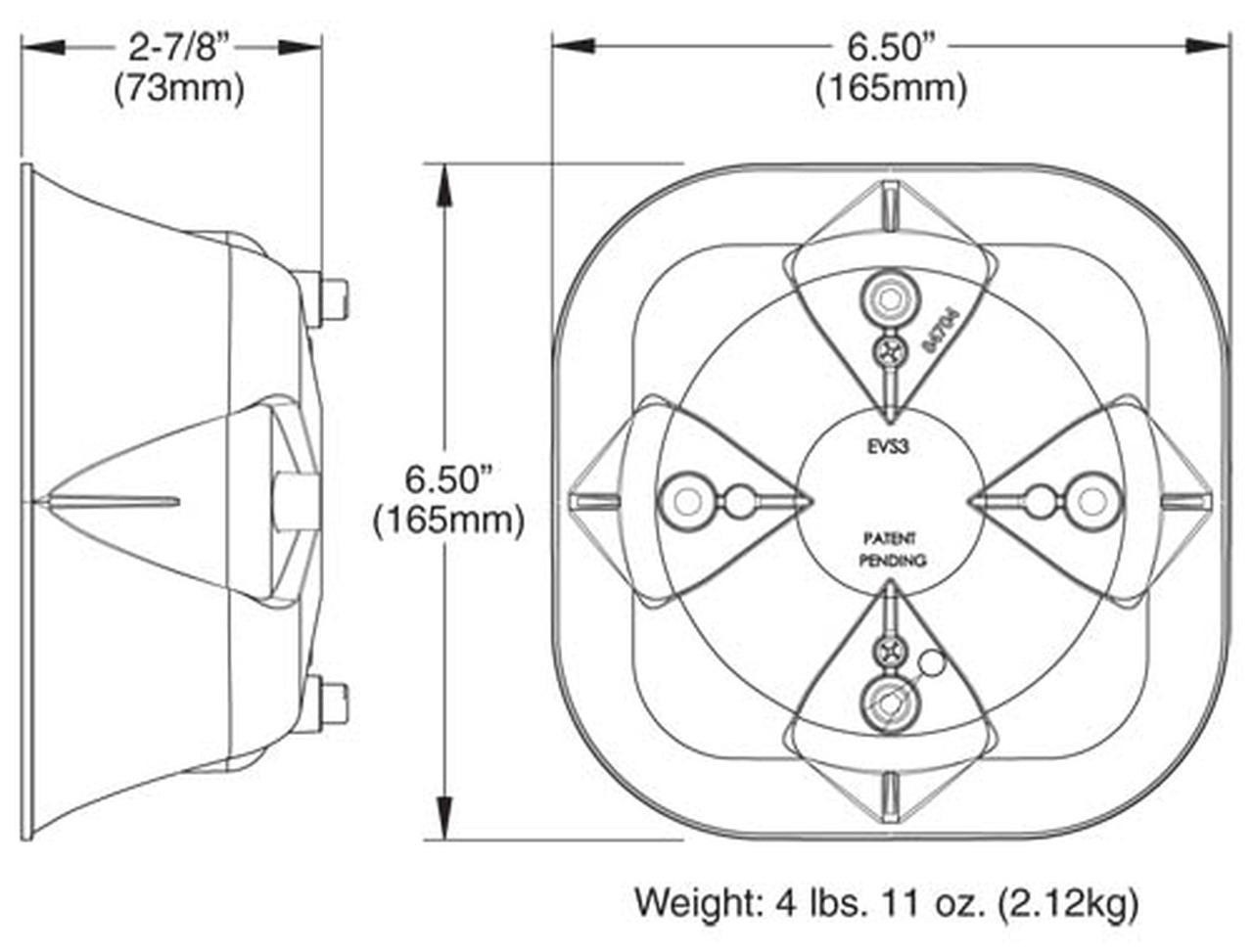 Astonishing Whelen Sa315P Siren Speaker Dana Safety Supply Wiring Cloud Eachirenstrafr09Org