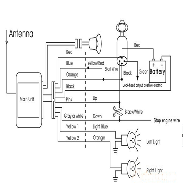 bc6759 bike guard alarm circuit schematic wiring