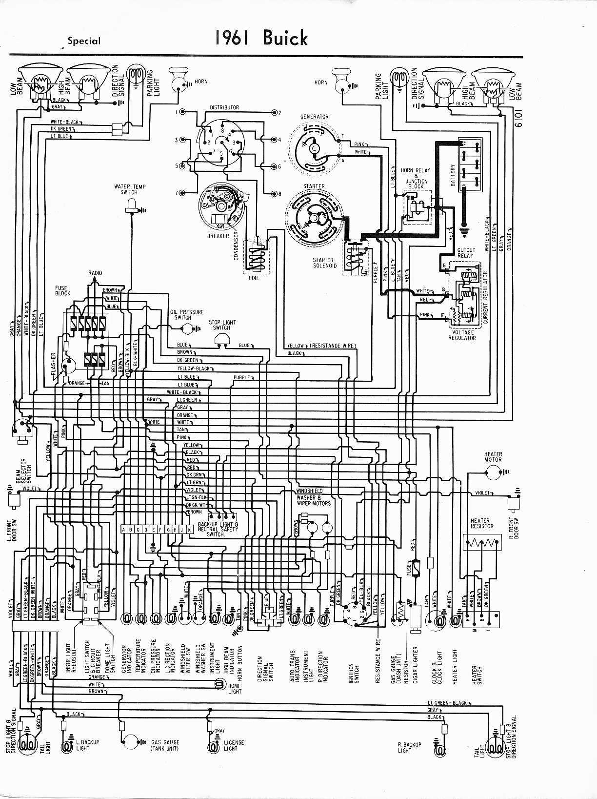 Astounding Buick Wiring Diagrams 1957 1965 Wiring Cloud Domeilariaidewilluminateatxorg