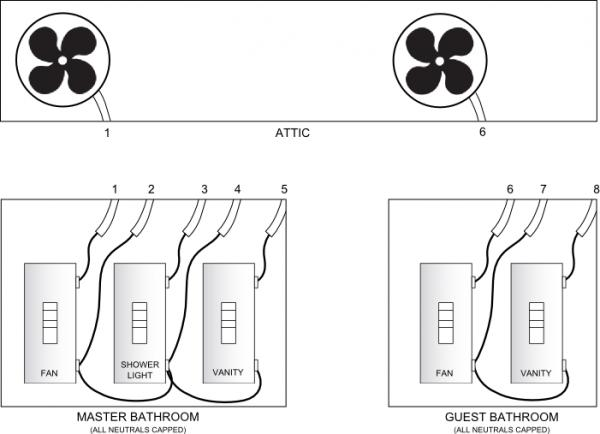 ny8743 wiring diagram for bathroom fan get free image