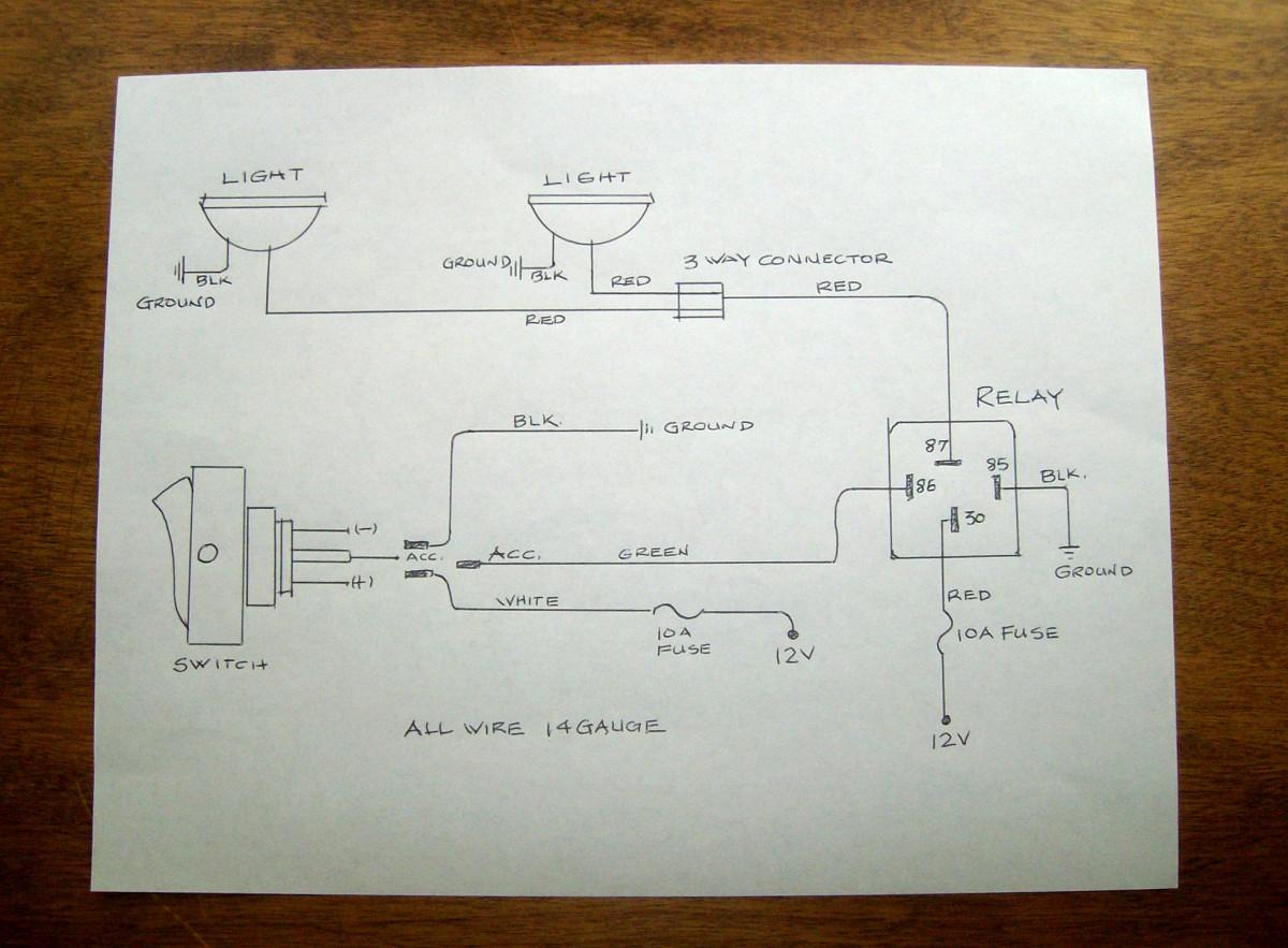 Pleasant Kc Lights Wiring Diagram To Highbeem Wiring Library Wiring Cloud Inklaidewilluminateatxorg