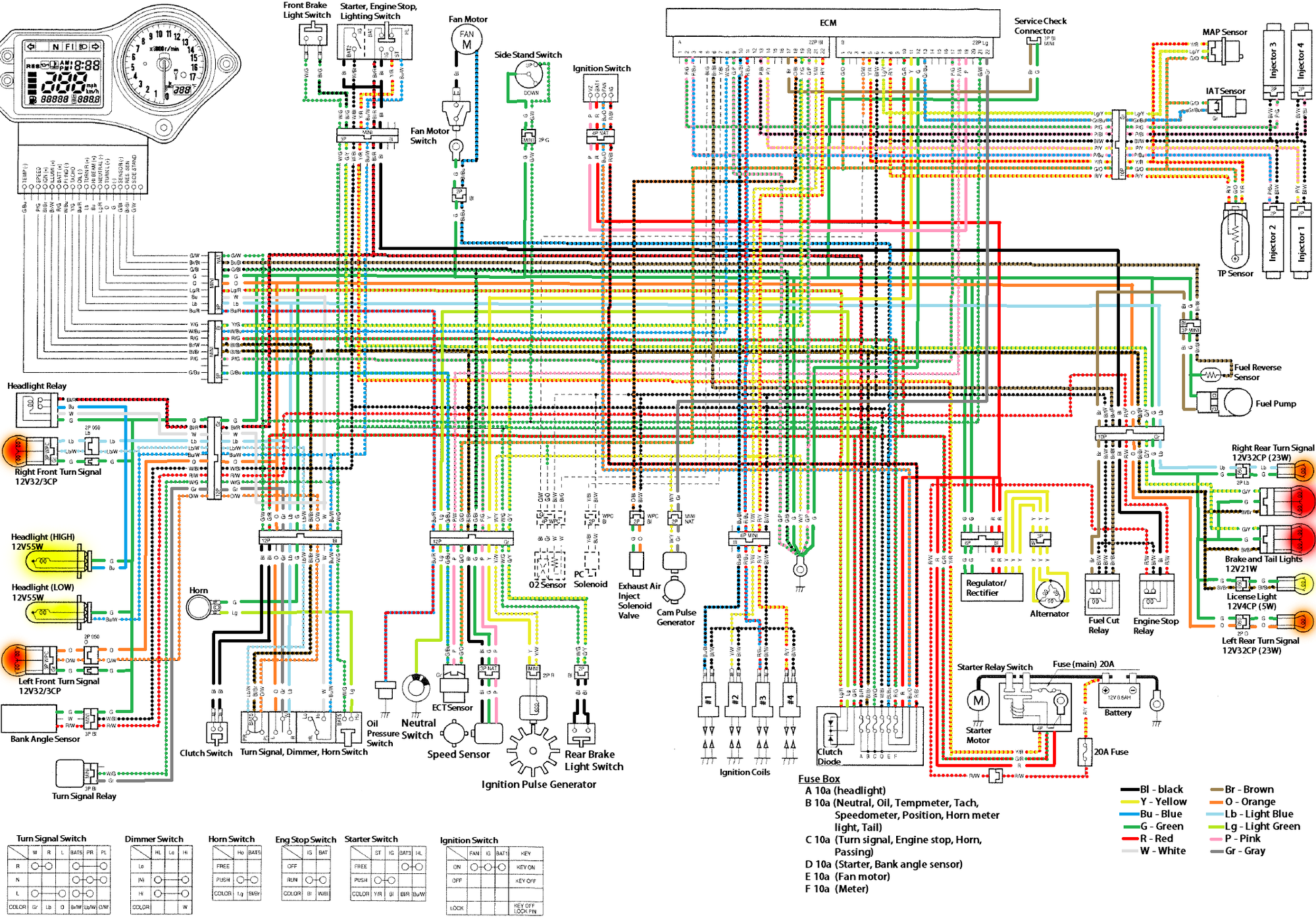 Cbr929rr Wiring Diagram - Wiring Diagram •wiring diagram