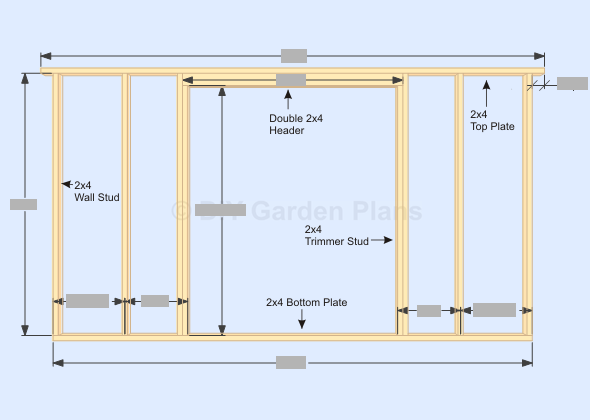 Peachy Gambrel Barn Shed Plans Front Wall Frame Diy Frames On Wall Wiring Cloud Faunaidewilluminateatxorg