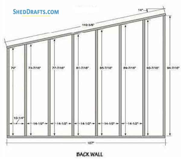 Pleasant 910 Slant Roof Shed Plans Blueprints For Storage Shed Wiring Cloud Faunaidewilluminateatxorg