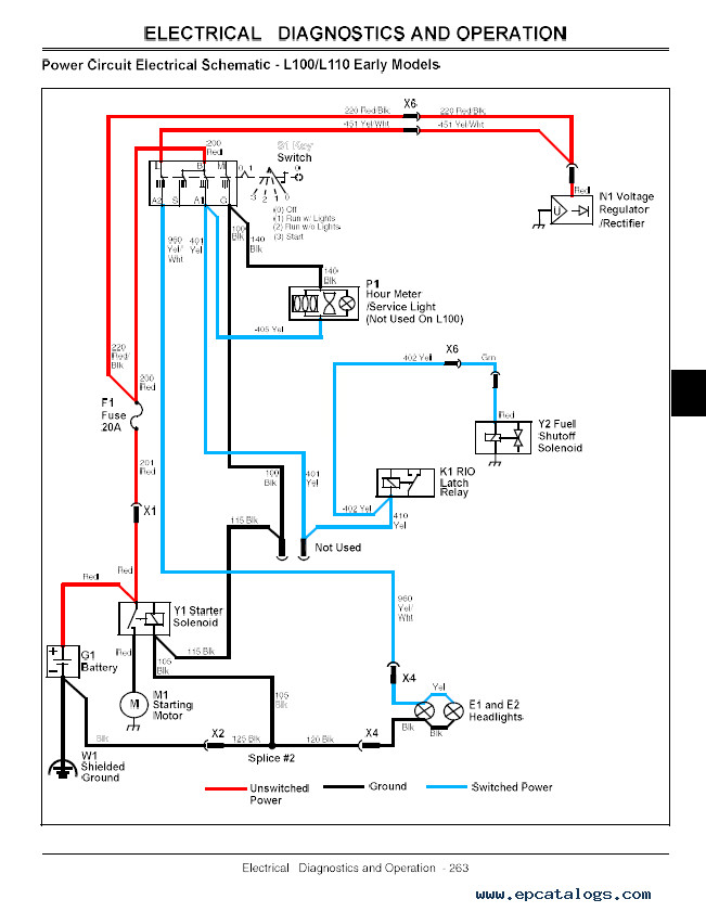 funny wiring schematics sn 7207  john deere l111 wiring diagram download diagram  sn 7207  john deere l111 wiring diagram