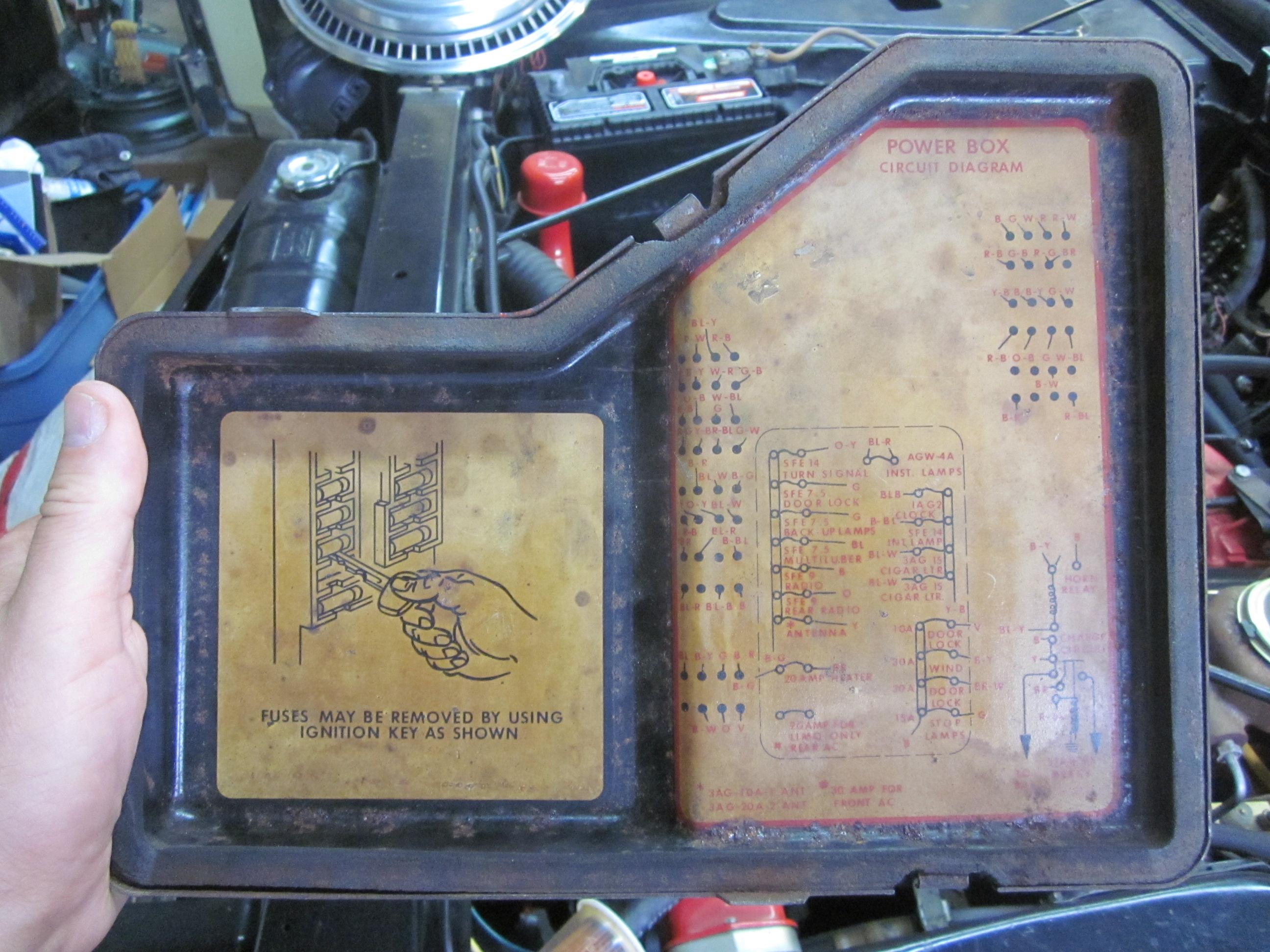 1965 lincoln continental fuse box fz 1663  1969 lincoln continental fuse box free diagram  1969 lincoln continental fuse box free