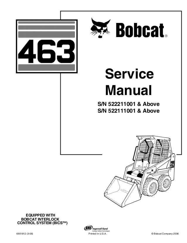 Rh 0879 540 Bobcat Wiring Diagram Schematic Download Diagram