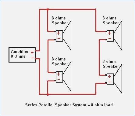 speaker wiring diagram in ohms vy 9519  speakers in series also with series parallel speaker  vy 9519  speakers in series also with
