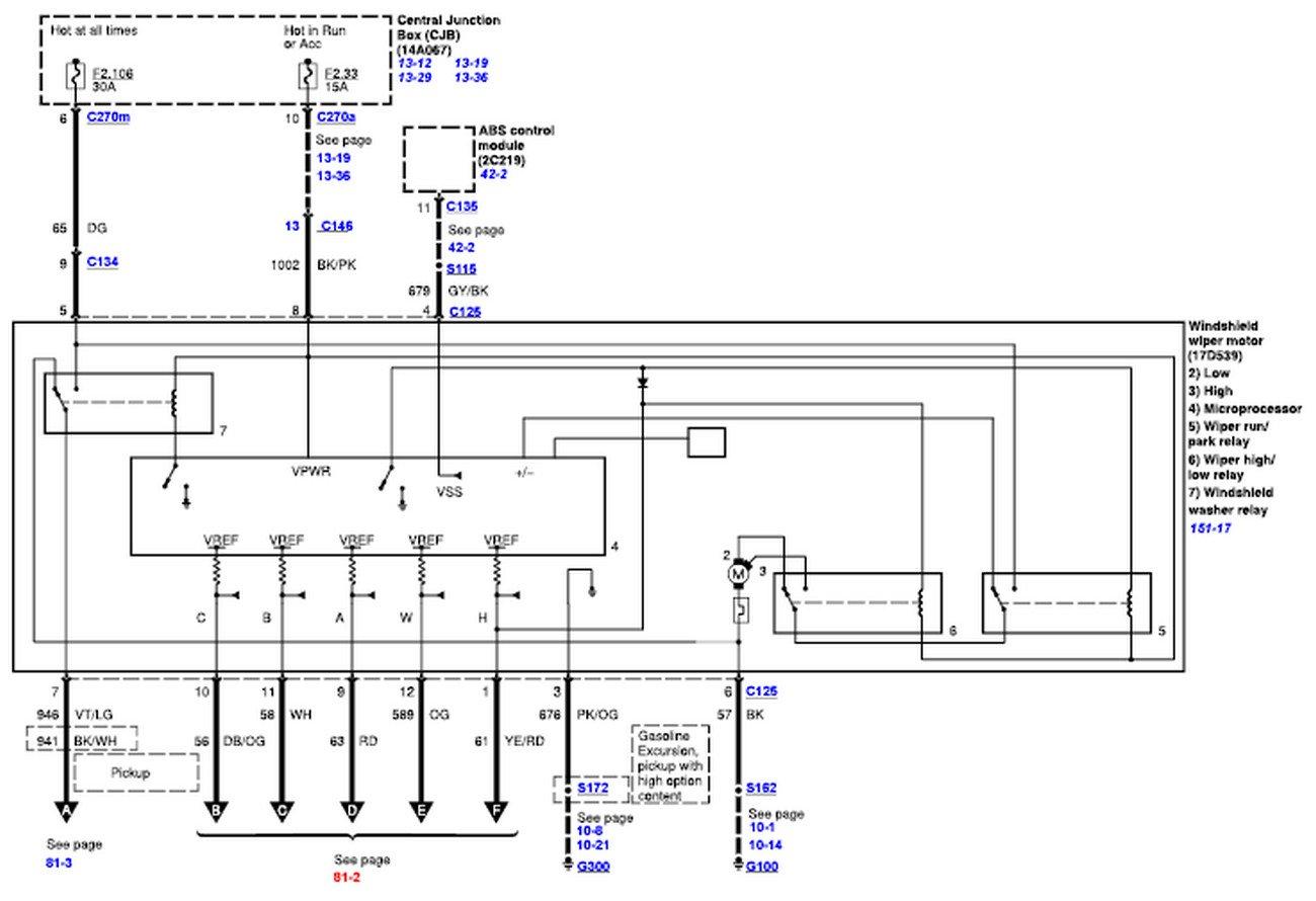 02 Ford Escape Wiper Wiring 1976 Gmc Fuse Panel Diagram Power Poles Yenpancane Jeanjaures37 Fr