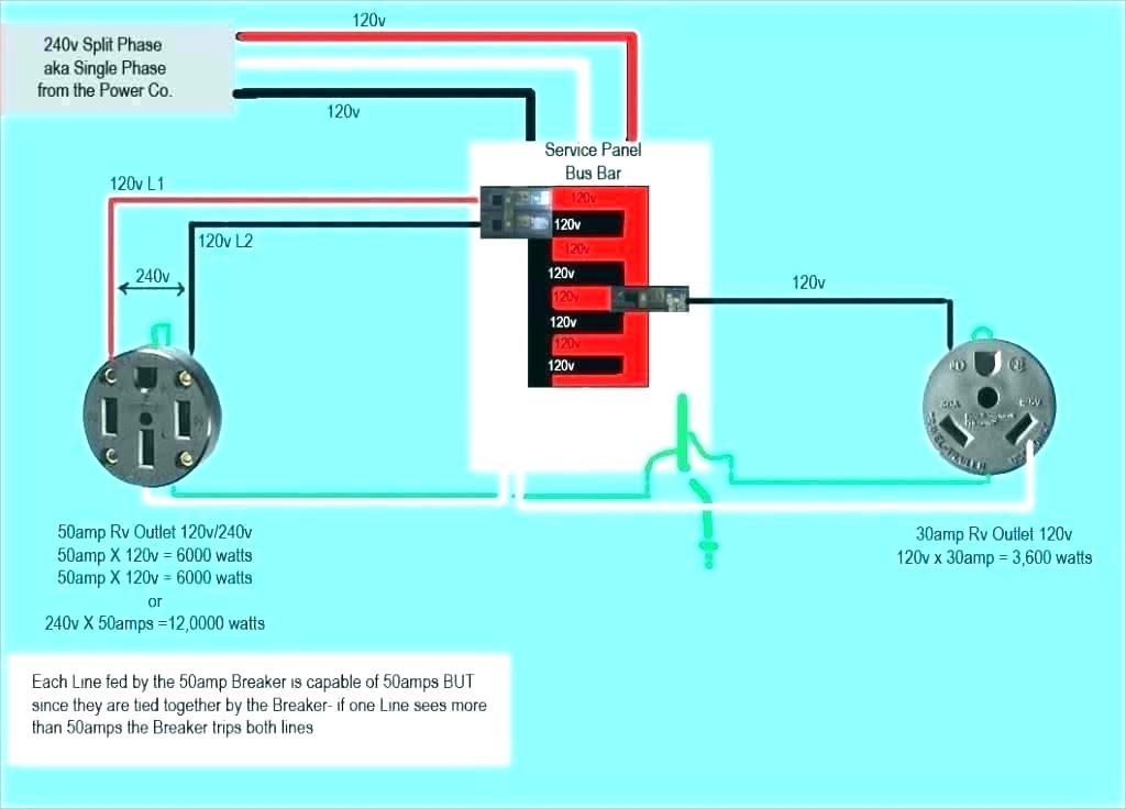 rv plug wiring diagram 30 amp  wiring diagram for pontiac