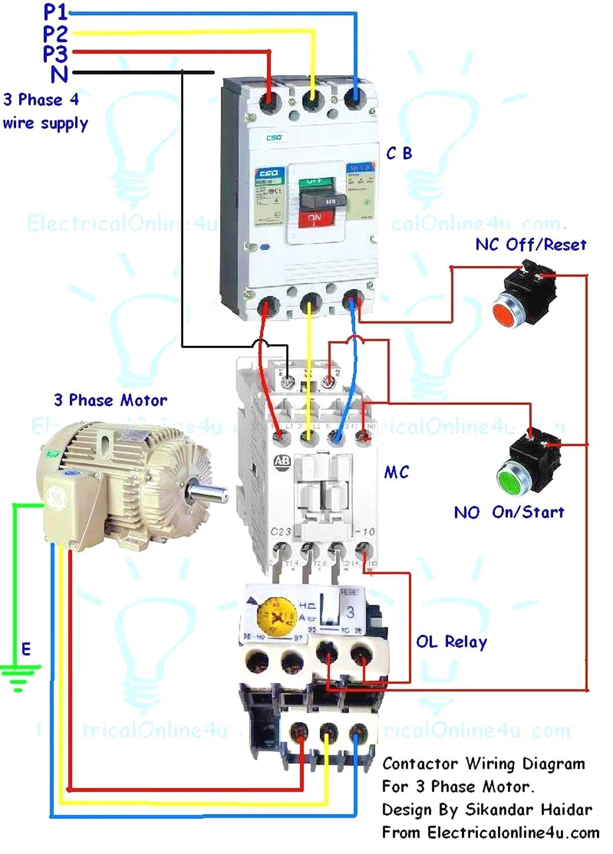 RF_5414] Electric Motor Contactor Wiring Diagram Wiring DiagramCular Eachi Barep Barba Mohammedshrine Librar Wiring 101