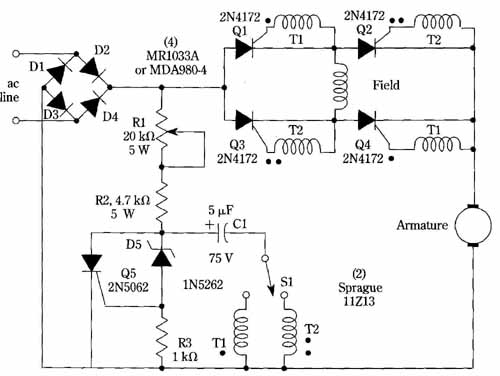 Awesome Speed And Direction Control For Dc Motors Wiring Cloud Mousmenurrecoveryedborg