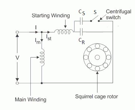 capacitor start run motor wiring diagram  2002 pontiac