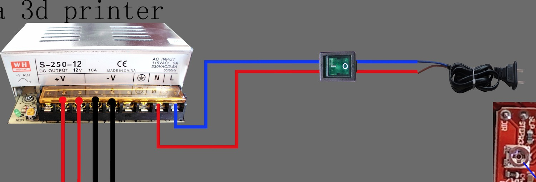 Tremendous Power Supply Wiring He3D Delta Printer 3D Printers Talk Wiring Cloud Vieworaidewilluminateatxorg
