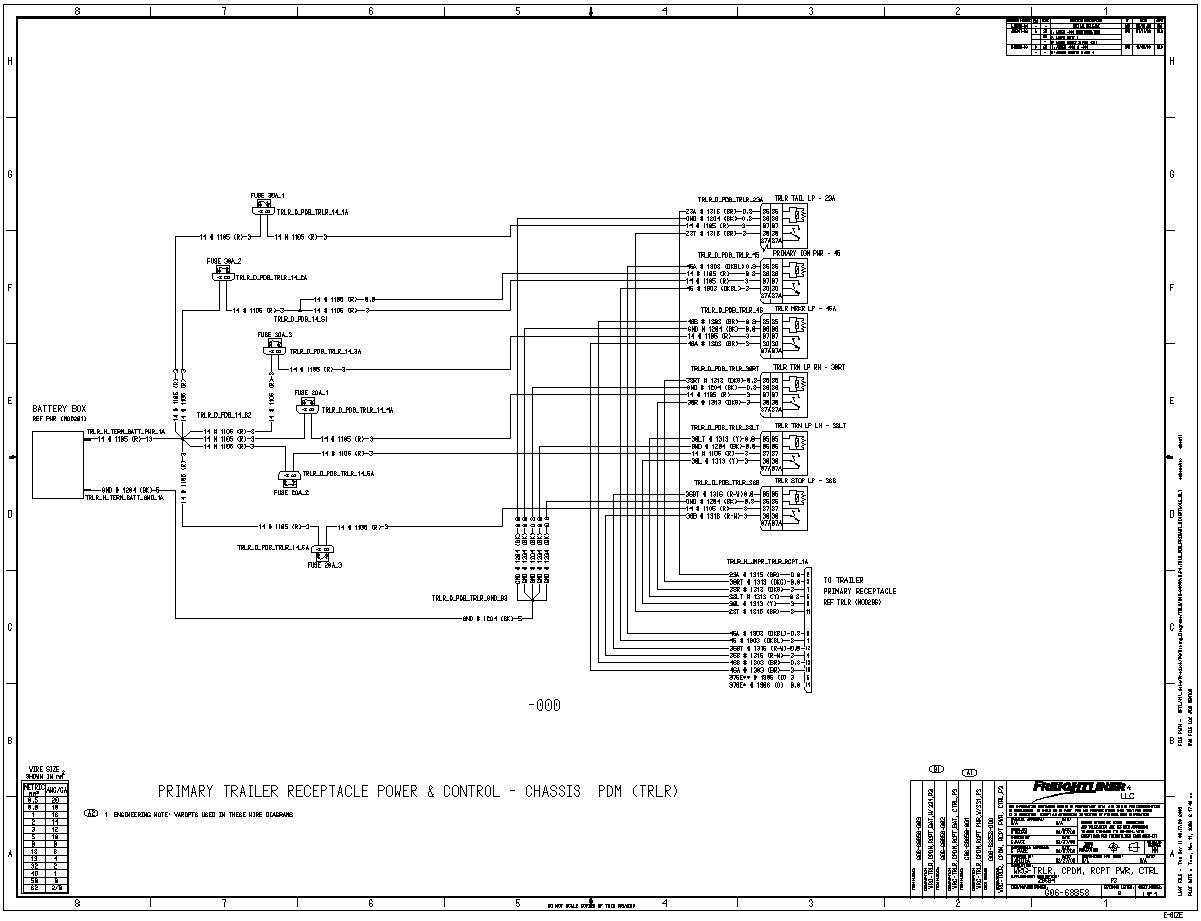 WA_6445] Freightliner Fuse Box Diagram On Freightliner Wiring Fuse Box  Diagram Schematic WiringShopa Gray Semec Mohammedshrine Librar Wiring 101