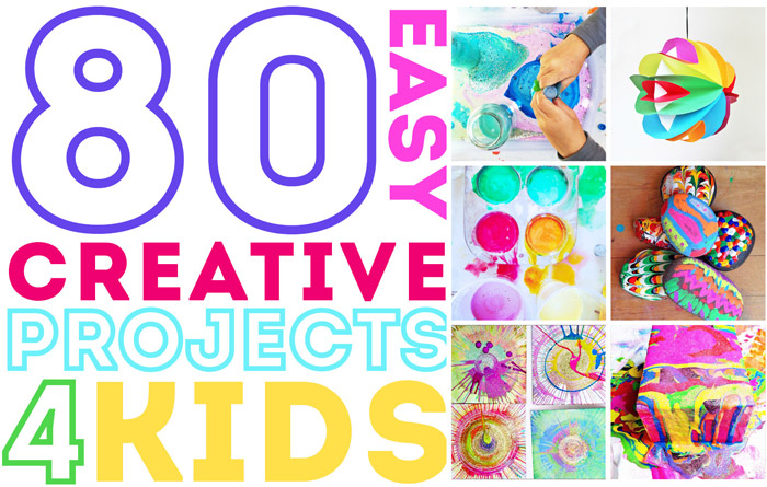 Marvelous 80 Easy Creative Projects For Kids Babble Dabble Do Wiring Cloud Ostrrenstrafr09Org