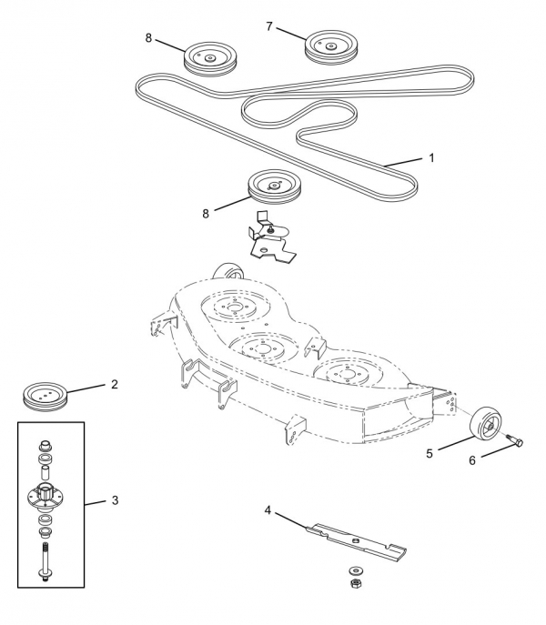 Cl 5210 Mower Drive Belt Diagram Together With John Deere
