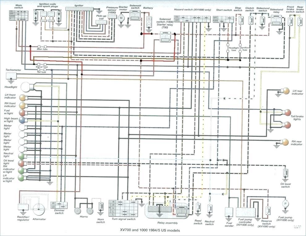 diagram 1981 yamaha virago xv750 ignition wiring diagram