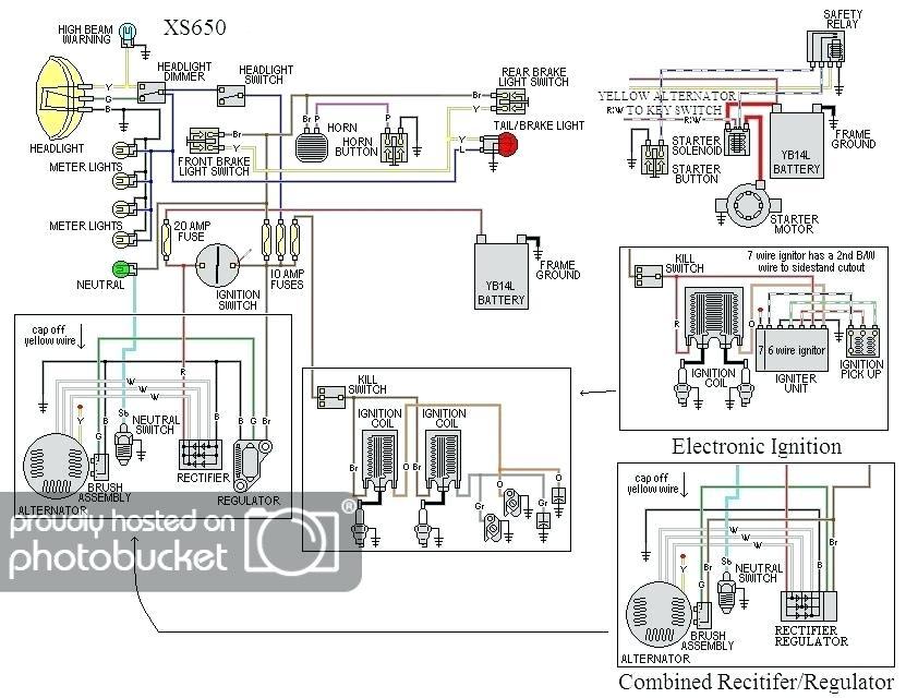 yamaha virago 250 wiring diagram  wiring diagram circuit