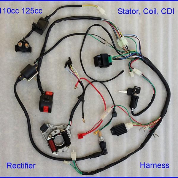 VT_8236] Chinese 110Cc Atv Wiring Diagram 50 70 90 110Cc 125Cc Wire Harness  Download DiagramNorab Wiluq Sequ Xrenket Licuk Mohammedshrine Librar Wiring 101