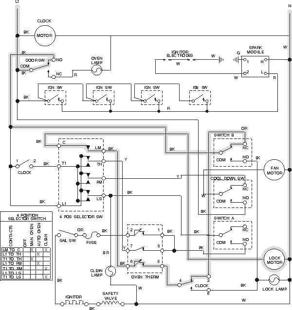 220 volt oven wiring diagram  94 ford mustang starter