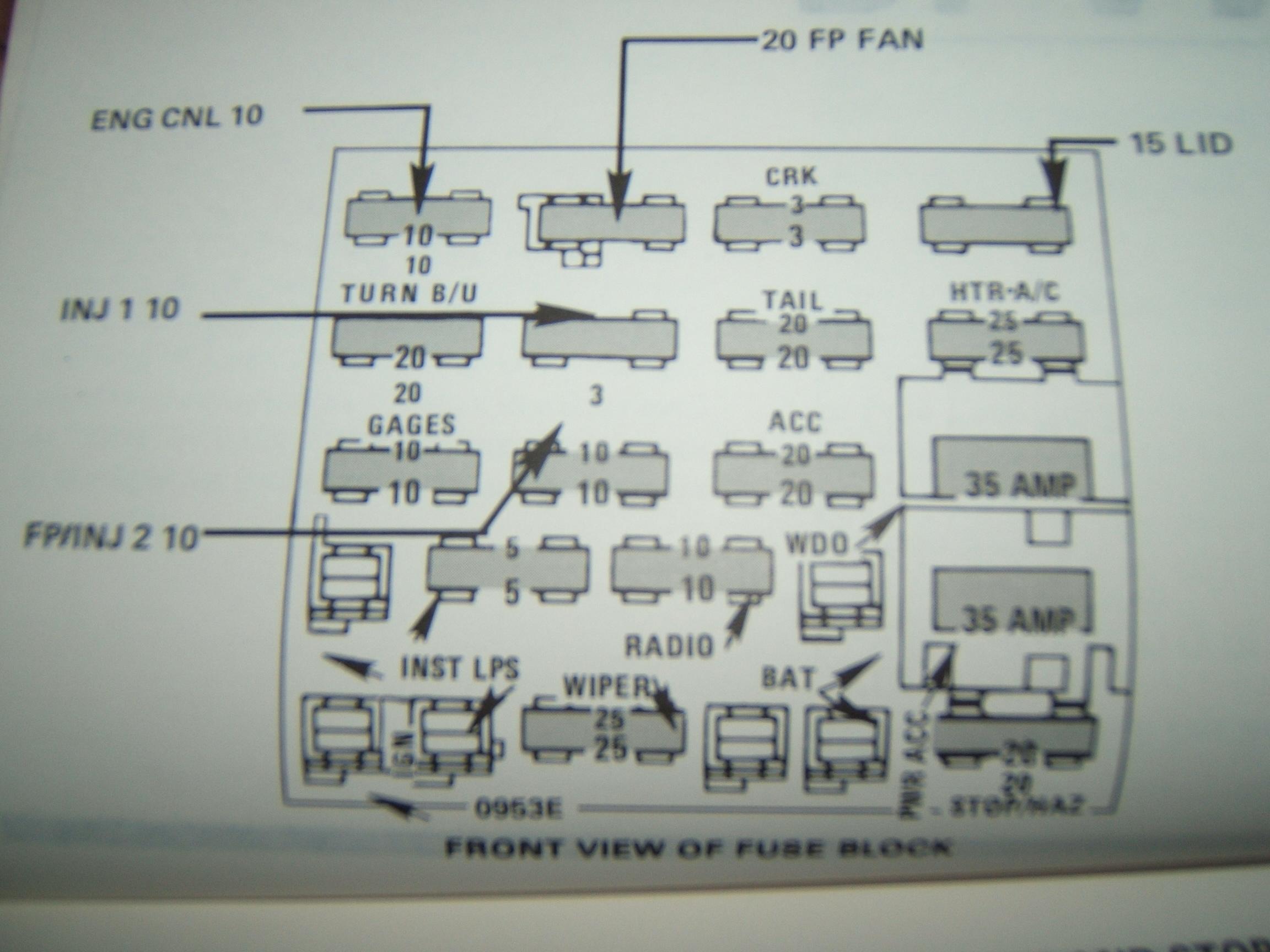 BM 40] 40 Camaro Fuse Box Housing Free Diagram