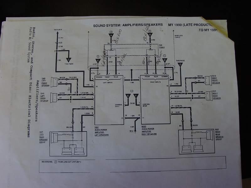 Wiring Diagram For 1986 190e