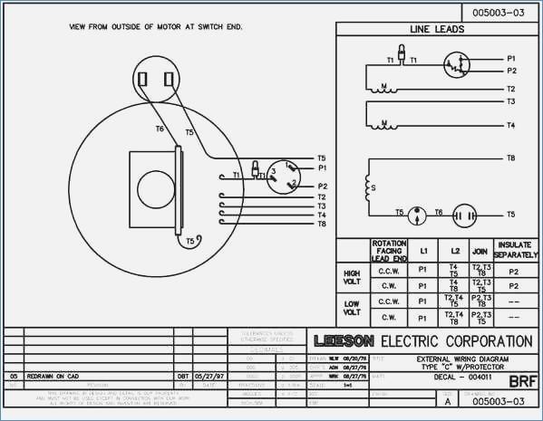 leeson motor wiring diagrams  international 8100 wiring